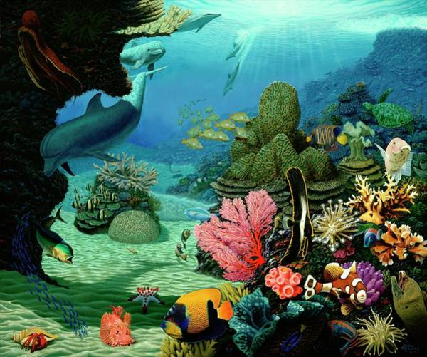 Annenberg Painting - Dream Of Pisces by Andrew Annenberg