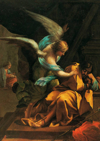 Wall Art - Painting - Dream Of St. Joseph by Francisco Goya
