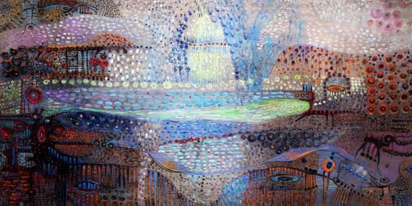 Surrealistic Painting - Dream Treveler by Lolita Bronzini