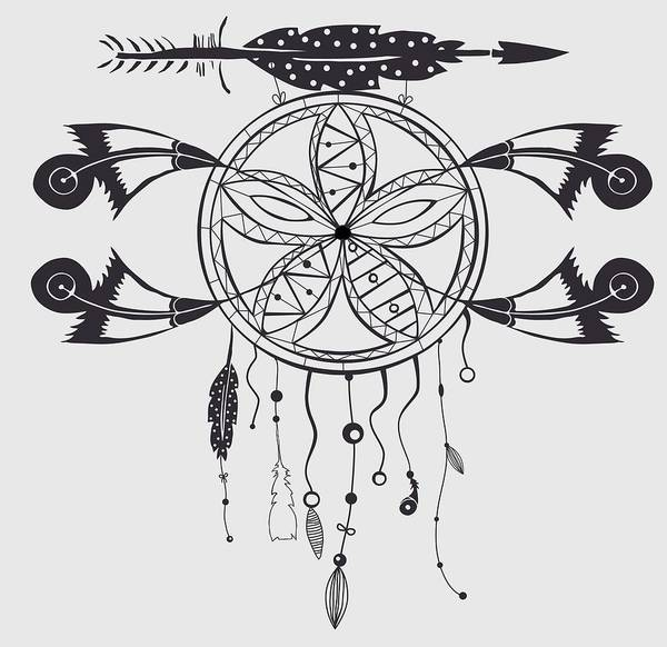 Digital Art - Dreamcatcher 101 by Ericamaxine Price