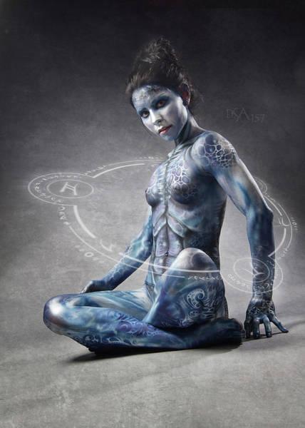 Bodypaint Wall Art - Photograph - Dreamcatcher II by David April