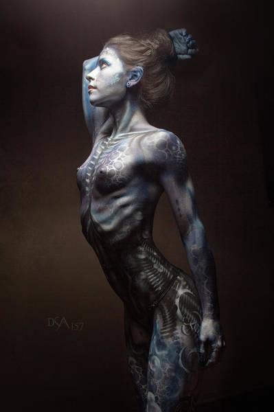 Bodypaint Wall Art - Photograph - Dreamcatcher V by David April