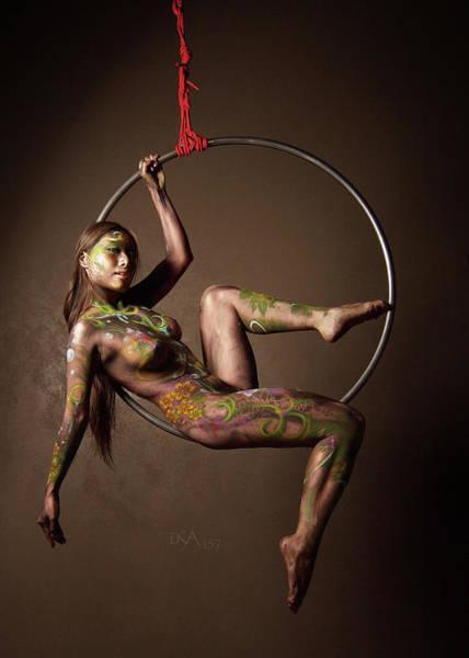 Bodypaint Wall Art - Photograph - Dreamcatcher Xiii by David April