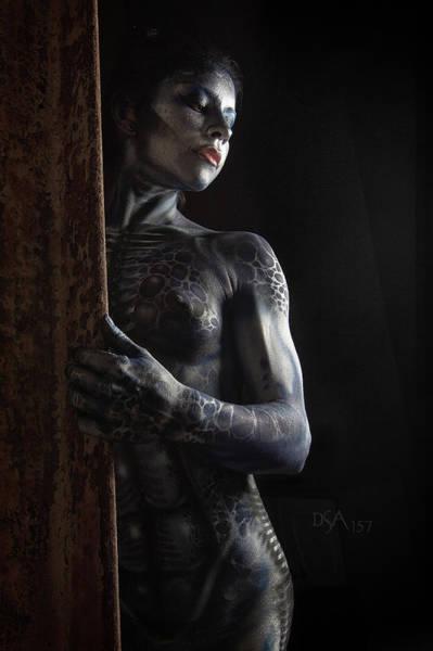 Bodypaint Wall Art - Photograph - Dreamcatcher Xiv by David April