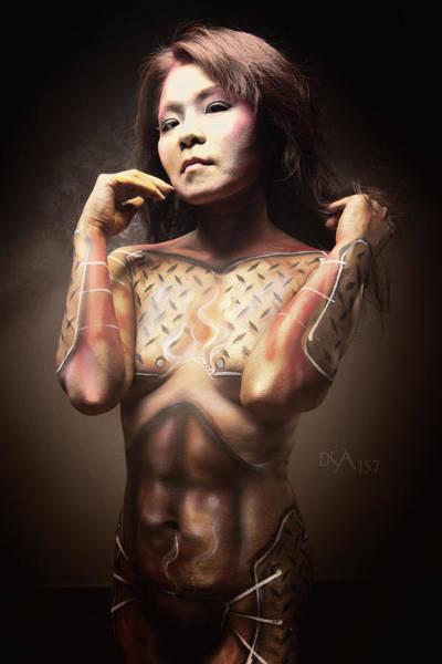 Bodypaint Wall Art - Photograph - Dreamcatcher Xv by David April