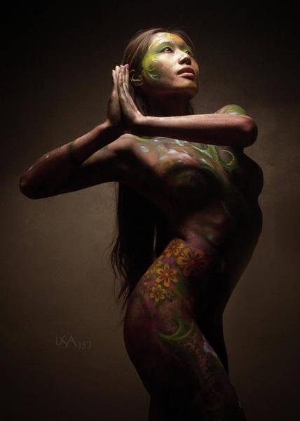Bodypaint Wall Art - Photograph - Dreamcatcher Xvi by David April