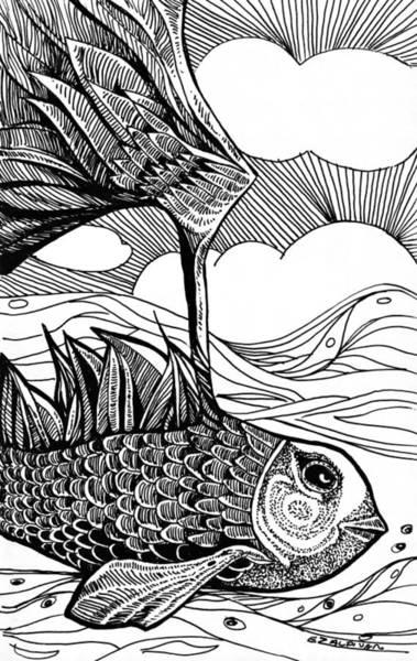 Dreamer Fish Art Print