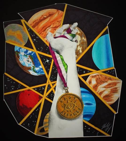 Gold Medal Drawing - Dreamer by Miranda Yung