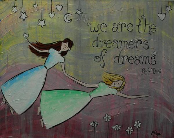 Painting - Dreamers Of Dreams by Emily Page