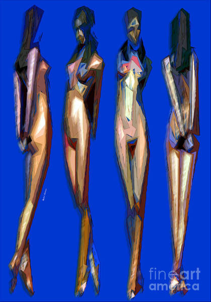 Digital Art - Dreamgirls by Rafael Salazar