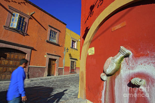 Photograph - Dreaming In Color In The City Of San Miguel De Allende, Mexico by Sam Antonio Photography