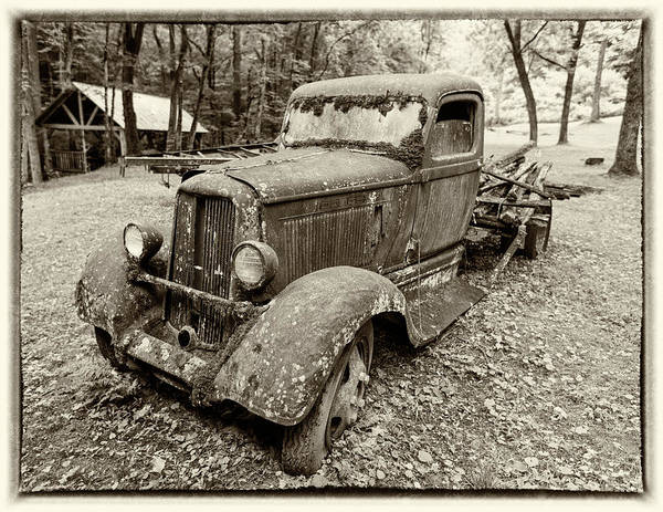 Pick Up Truck Photograph - Dreaming Of Days Past - Vintage Dodge Truck by Stephen Stookey