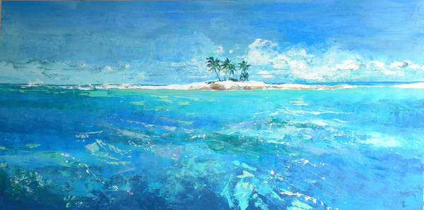 Caribbean Wall Art - Painting - Dreaming Of by Jan Farara