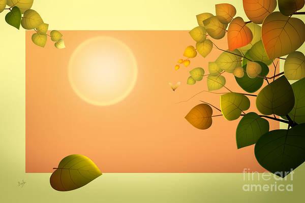Flowering Trees Digital Art - Dreaming Of Summer by Peter Awax