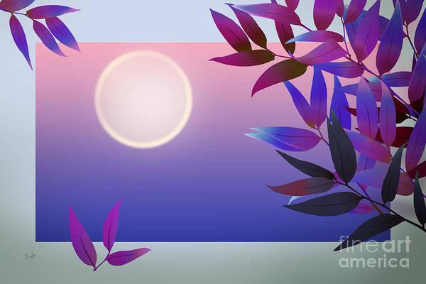 Purple Haze Digital Art - Dreaming Of Winter by Peter Awax