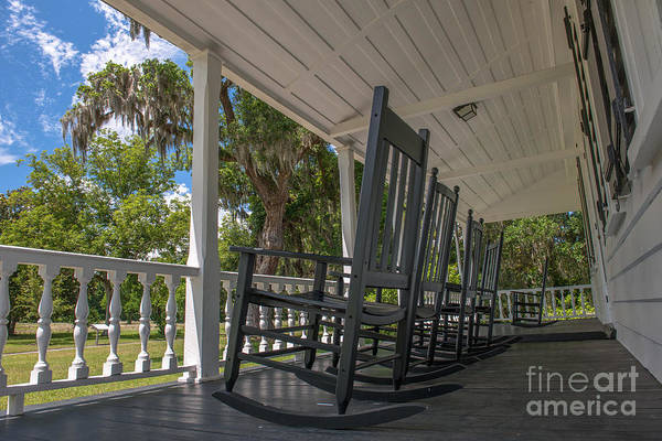 Photograph - Dreaming On Front Porch by Dale Powell