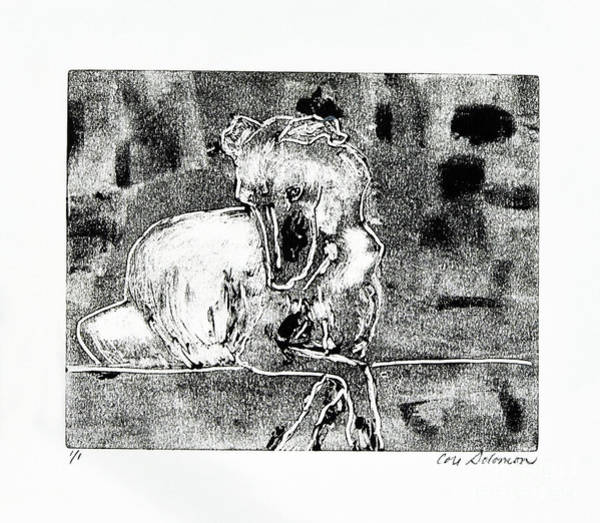 Sighthound Mixed Media - Dreaming Whippets by Cori Solomon