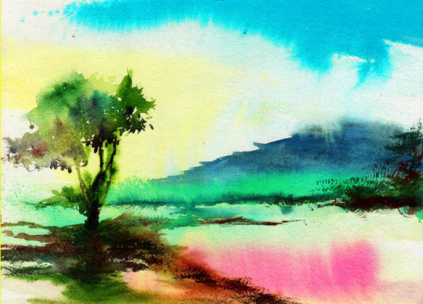 Painting - Dreamland by Anil Nene