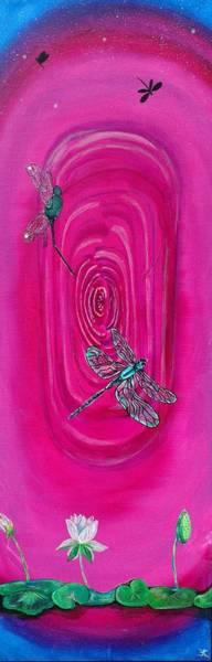 Wall Art - Painting - Dreams In Dragonflies by Kara Main