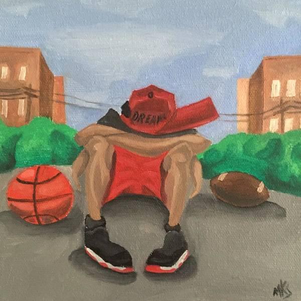 Sports Painting - Dreams by McKinson  Souverain