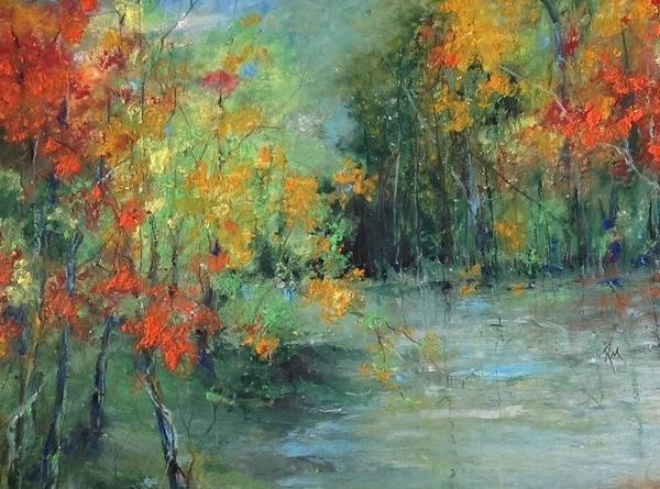 Dreams Of Autumn #1 Paradise On Pontchartrain Art Print