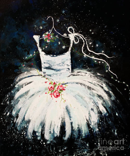11x14 Painting - Dreams Of Dancing 2 by Angelina Cornidez