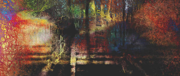 Wall Art - Digital Art - Dreams Of The Station by James Barnes