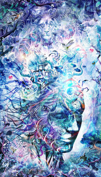 Therapy Wall Art - Digital Art - Dreams Of Unity by Cameron Gray