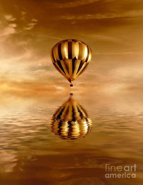 Gold Photograph - Dreams by Jacky Gerritsen