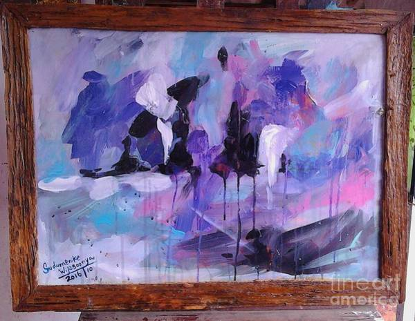 Wall Art - Painting - Dreams by Sudumenike Wijesooriya