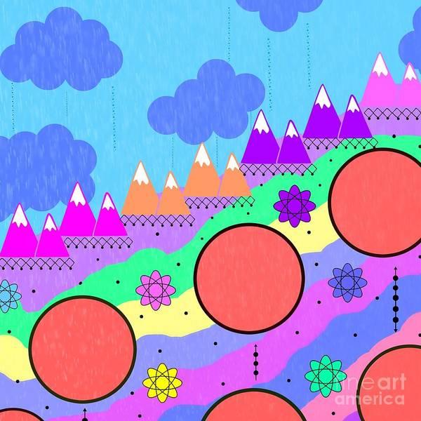 Digital Art - Dreamscape by Diamante Lavendar