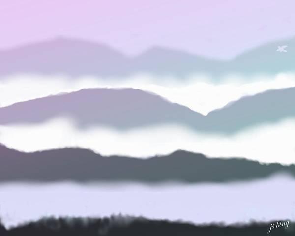 Purple Haze Digital Art - Dreamscape by Jacquie King