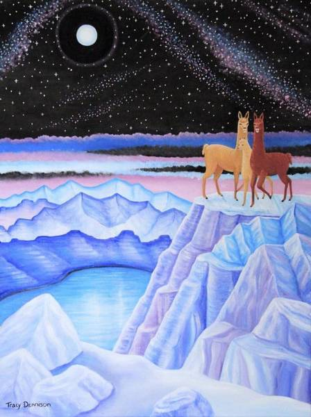 Painting - Dreamscape by Tracy Dennison