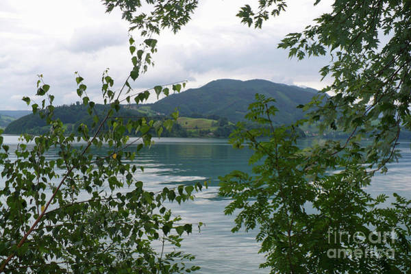 Photograph - Dreamy Austrian Lake by Carol Groenen