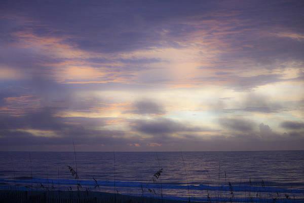 Dreamy Blue Atlantic Sunrise Art Print