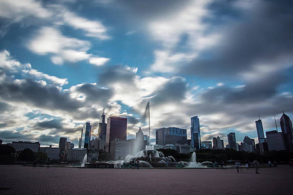 Photograph - Dreamy Buckingham Fountain by Sven Brogren