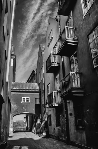 Polished Photograph - Dreamy Dawna Street Warsaw by Carol Japp