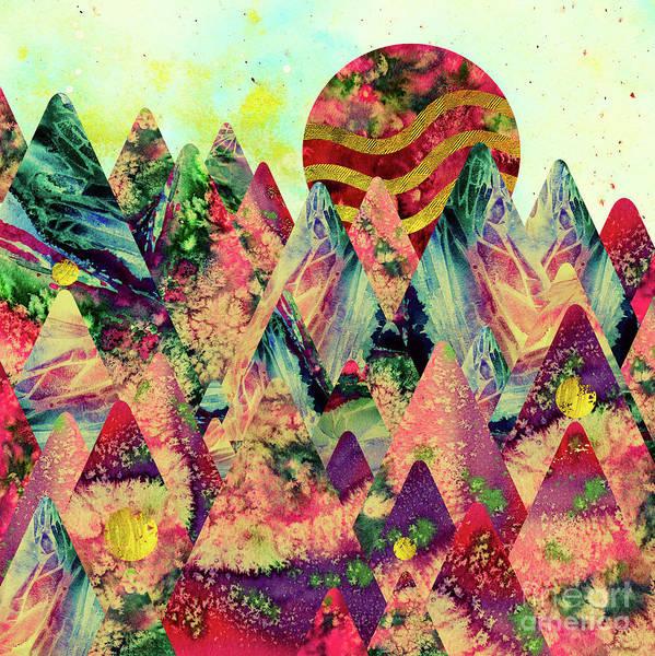 New Trend Digital Art - Dreamy Mountains by Zaira Dzhaubaeva