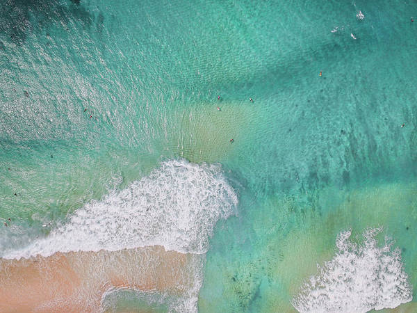 Down The Shore Photograph - Dreamy Pastels by Sean Davey