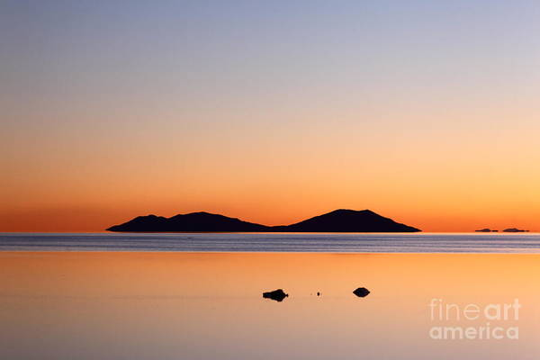 Photograph - Dreamy Salar De Uyuni Sunset by James Brunker