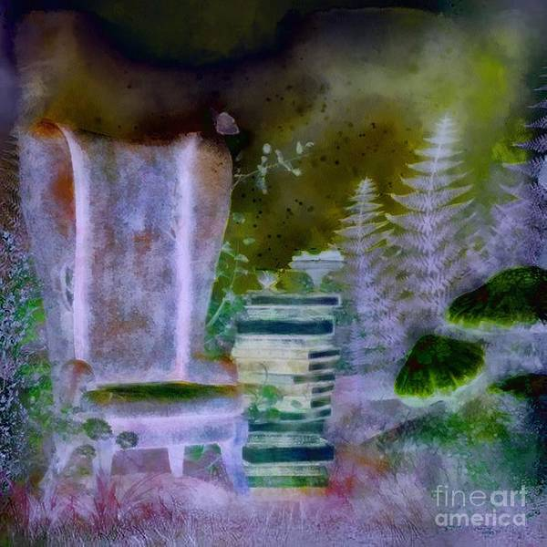 Digital Art - Dreamy Seat by Catherine Lott