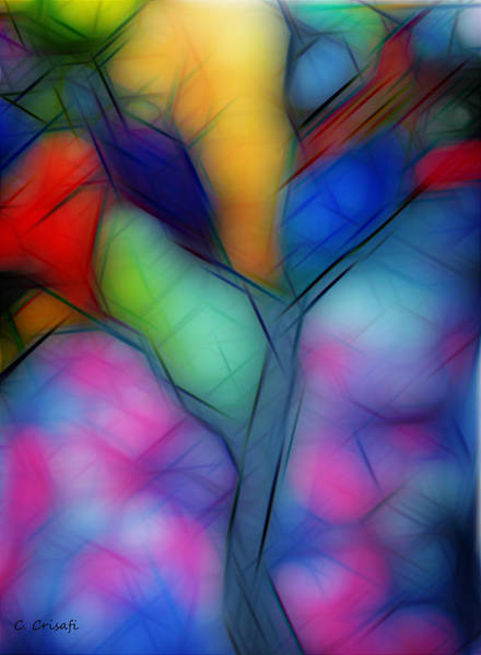 Painting - Dreamy Tree by Carol Crisafi