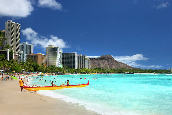 Wall Art - Photograph - Dreamy Waikiki by Sean Davey