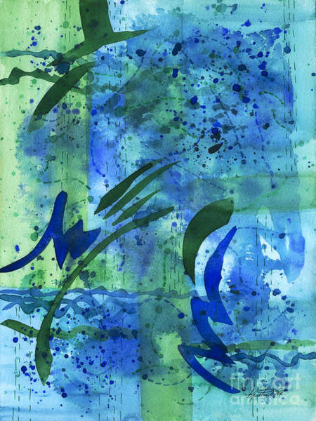 Painting - Drenched Watercolor by Kristen Fox