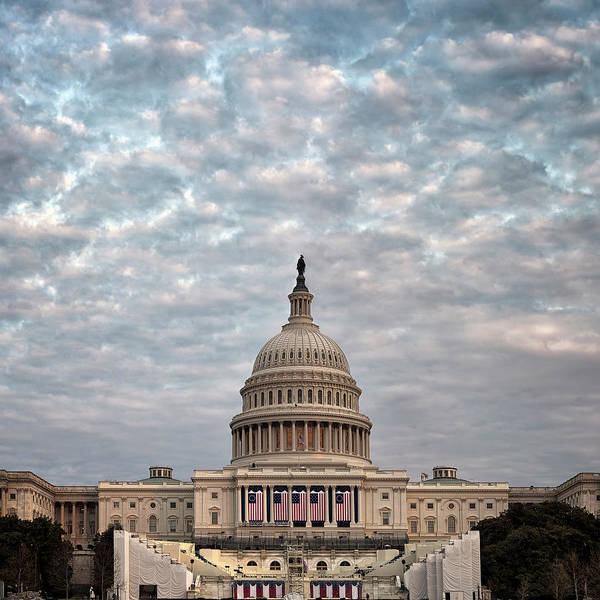 Us Capitol Photograph - Dressed For The Show  by Robert Fawcett