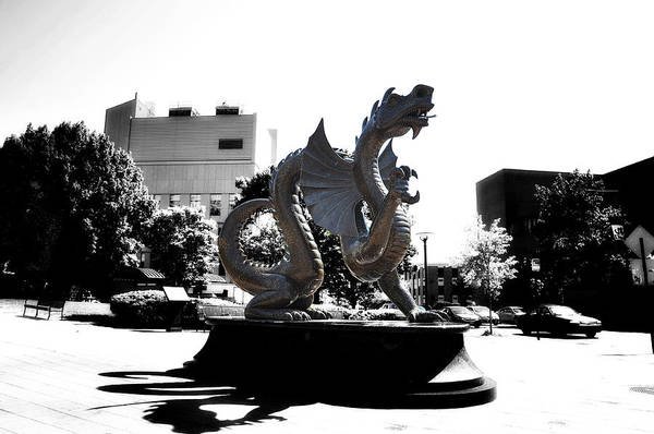 Photograph - Drexel Dragon by Bill Cannon
