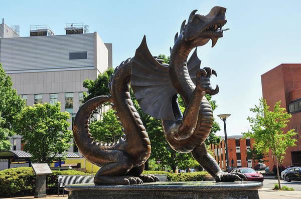 Photograph - Drexel University Dragon - Philadelphia Pa by Bill Cannon