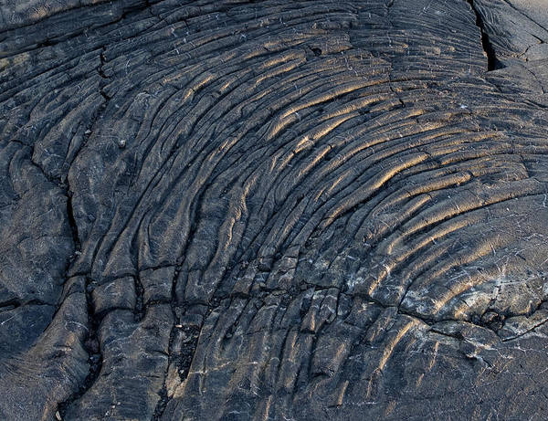 Wall Art - Photograph - Dried Lava On Hawaii by Brendan Reals