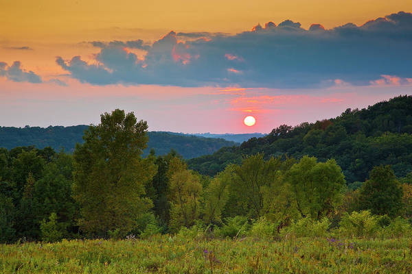 Photograph - Driftless Sunset by Mark Mille