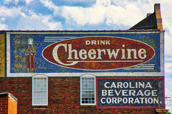Photograph - Drink Cheerwine by Dale R Carlson